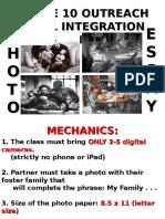 grade 10 outreach level integration