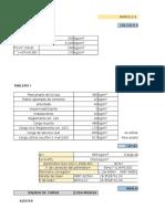 Plantilla para bajada de cargas (estructuras)