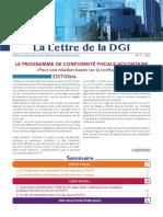 Lettre de la DGI n°77
