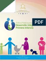 Politica Publica de Honduras Desarollo de La Primera Infancia