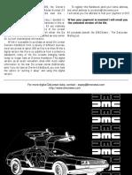 DeLorean Manual