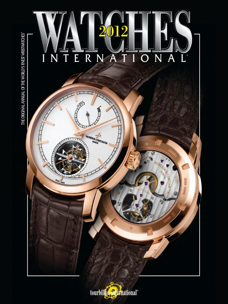 17b6b4169ed Watches International 2012