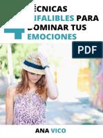 Regalo Guía 4 Técnicas Infalibles - MiniCurso Emociónate