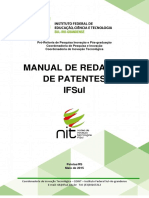 Manual de Redacao de Patentes IFSul - 2015