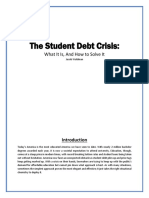 Issue Brief Student Debt Fix