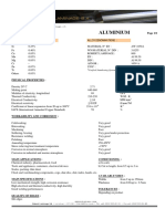 Al 99.5 AW 10-50 Aluminium a 1050 Technical Data Sheet RLSA