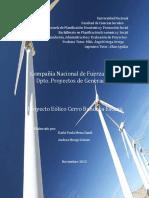 Estudio de Factibilidad Cerro Bandera Escazú. CNFL PPS LISTO