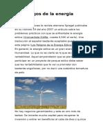 Los Riesgos de La Energia Eolica