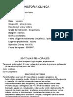 Historia Clinica Comunitaria