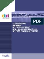 Prevenzione Incendi Pubblici Esercizi Stabilimenti Balneari Porti Approdi Turistici
