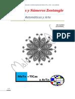 Matematicas y Patrones Zentangle