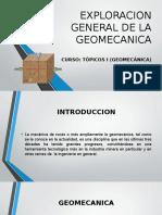 Exploracion General de La Geomecanica
