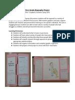 1stgradebiographyproject