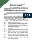 Curso de Instalaciones Hidraulicas 2013.