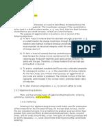 Agglomerating Processes[1]