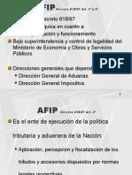 Funciones y Facultades AFIP DGA