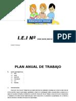 300296164 Plan Anual de Trabajo Ed Inicial 2016 Modelo