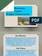 Carroll Melissa Budget Presentation
