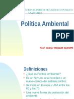 Resumen Politica Ambiental