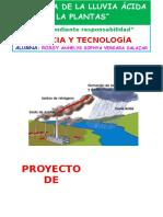 Proyecto lluvia acida