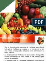 Clase Verduras y Hortalizas2015