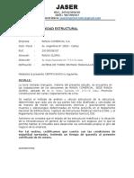 Antena Gloria- Informe Seguridad Estructural y Sísmica
