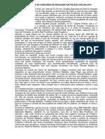 Representacao de Prisao Temporaria Cumulada Com Buscas Delegado Da PC BA 2013