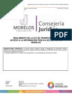 Reglamento de Transparencia Morelos