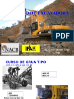capacitacion EXCAVADORA