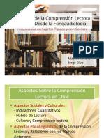 Situación de La Comprensión Lectora en Chile, Perspectiva Fonoaudiológica.