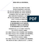 Bionda Bella Bionda