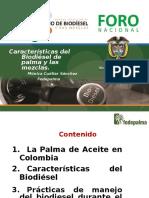 Caracteristicas Del Biodiésel y Sus Mezclas