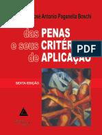 Penas e Seus Critérios de Aplicação - José Antônio Paganella Boschi