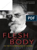 Didier Franck Flesh and Body on the Phenomenology of Husserl 1