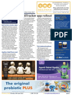 Pharmacy Daily for Mon 24 Apr 2017 - MediTracker app rollout, New trazodone AD role, Soft drink stroke risk, Weekly Comment and much more