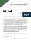 Artigo A saúde sob o olhar do idoso institucionalizado.pdf