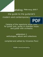 Pocci Catalog 32th February 2017 Anthologies