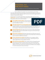 10 Professional Tax Software Must-Haves White Paper