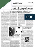 Vittorio Benussi, un genio incompreso