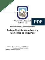 Mecanismo y Elementos de Maquina