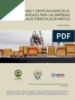 Problemas y Oportunidades en El Mercado Para Las Empresas Sociales Forestales en Mexico