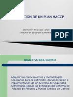 Elaboracion de Un Plan Haccp