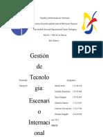 Gestión de Tecnología - Exposicion