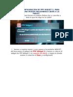 Guía de Configuración de Pppwidget2 en Android