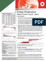 Energy Infra Weekly