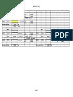 Simple Module Spur Gear Centres Calculation Spread Sheet