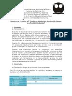 Reporte Práctica #5 (Q. Orgánica I)