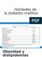 Comorbilidades de La Diabetes Mellitus