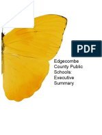 edgecombe county public schools executive summary