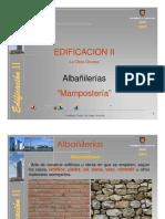 (20090904)Apunte de Apoyo 6 Clases 15 y 16_Edificación II